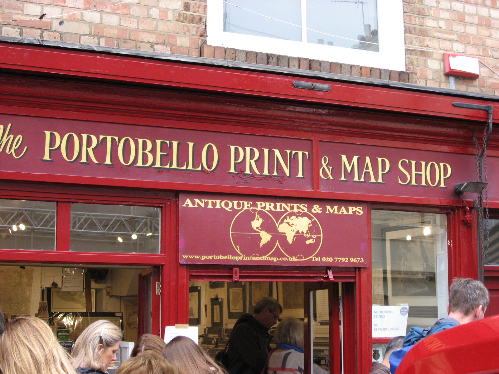 The Portobello Print & Map Shop